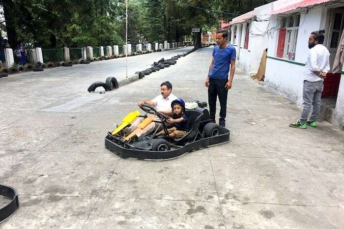 go karting in ranikhet
