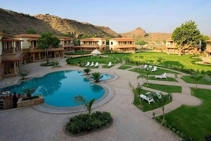 Marugarh Venture Resort Jodhpur pool