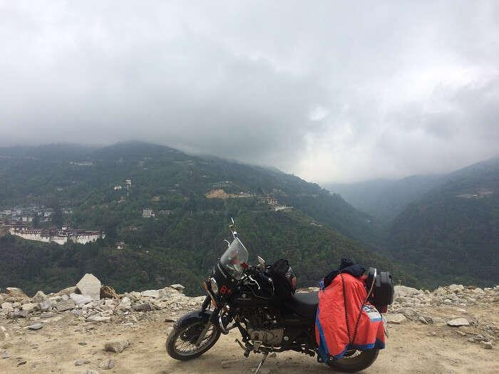 Bike trip trongsa