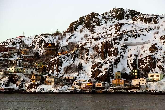 Newfoundland Canada in Winters