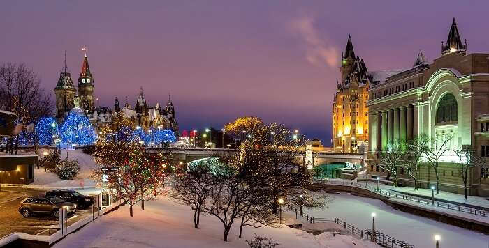 places to visit in canada in winter