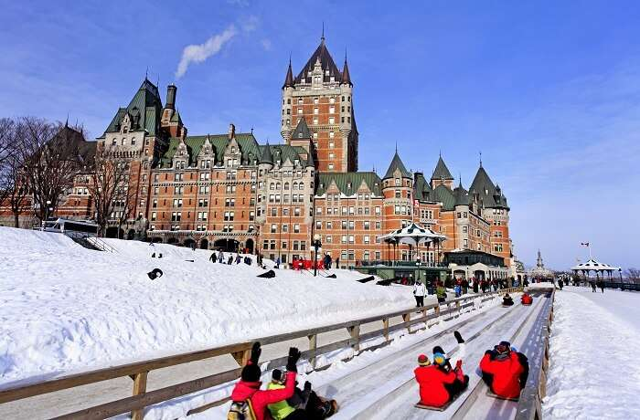 Things to do in quebec in winter