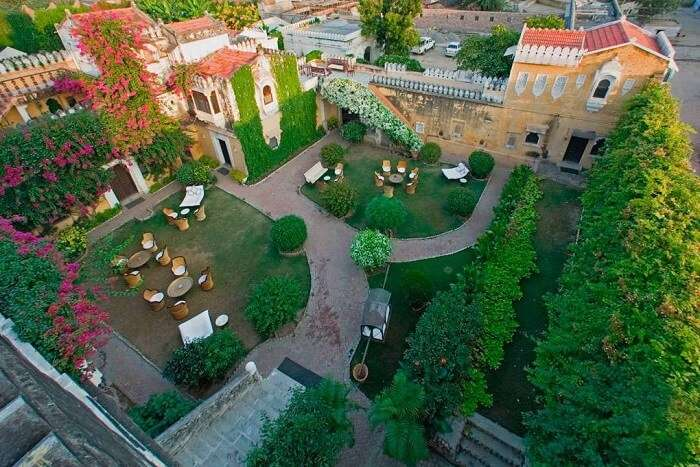 Rawla Narlai aerial view