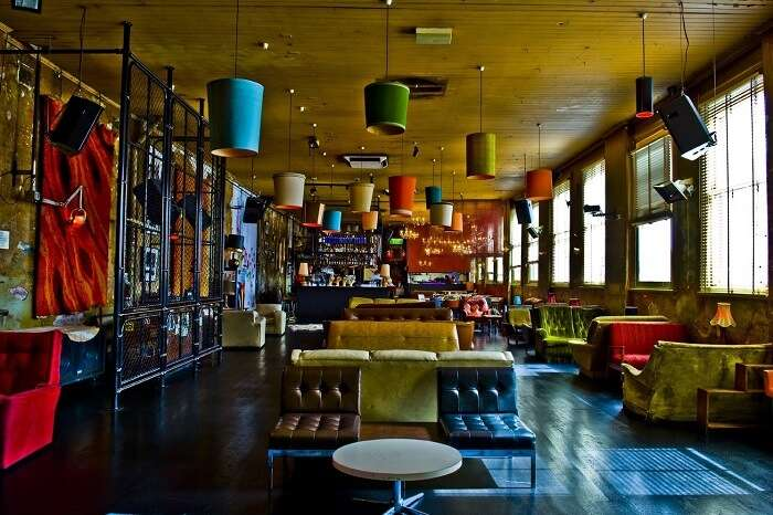 relish the delicious delights of revolver upstairs