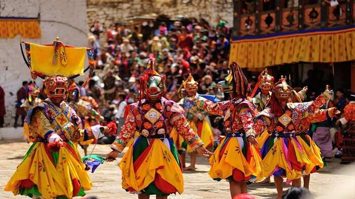 be part of festivals in sikkim