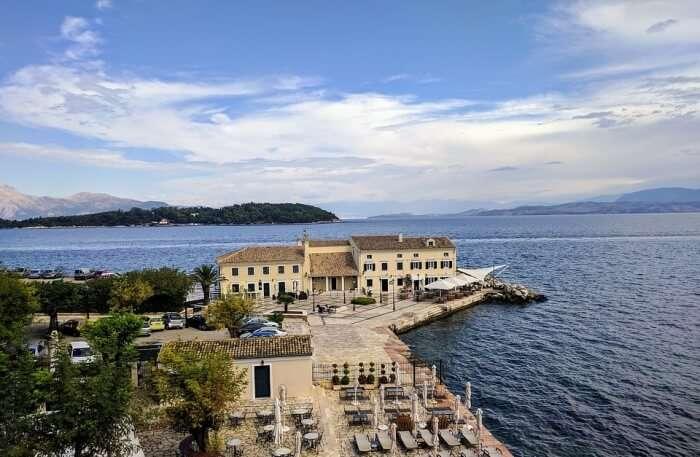 royalty at Corfu Island