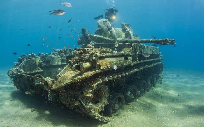 The Tank in Gulf of Aqaba