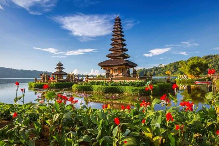 water temples in bali