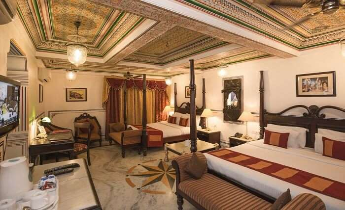 Umaid Bhawan Palace & Resort room