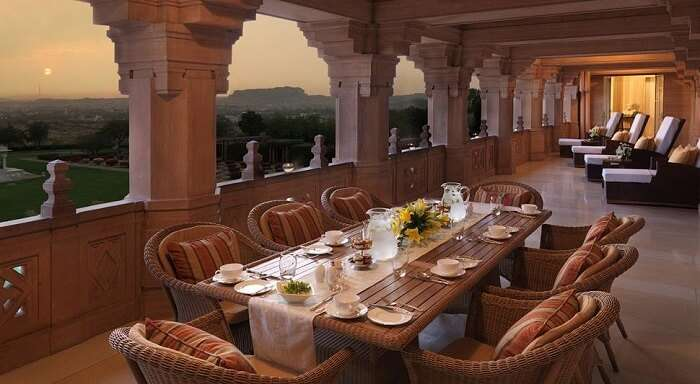 Umaid Bhawan Palace & Resort restaurant