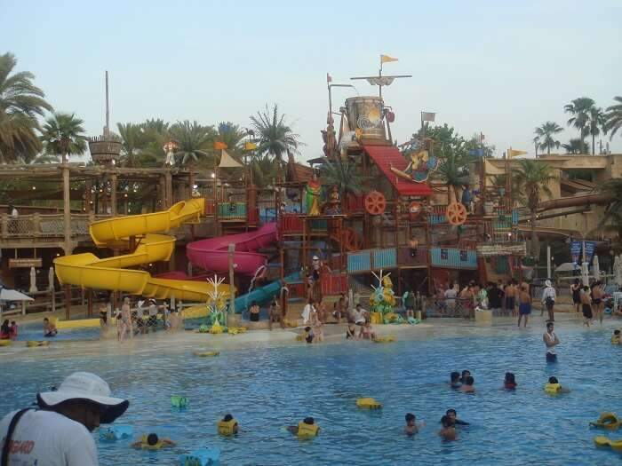 waterr ides in wild wadi