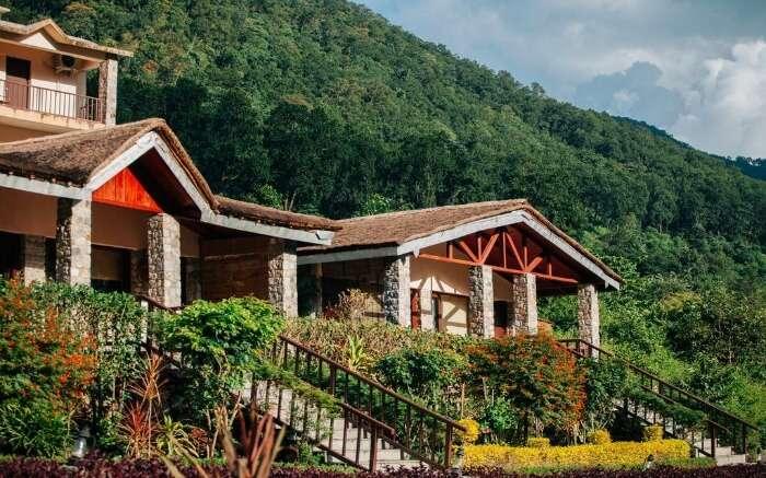 beautiful resort in the jungles of Jim Corbett National Park