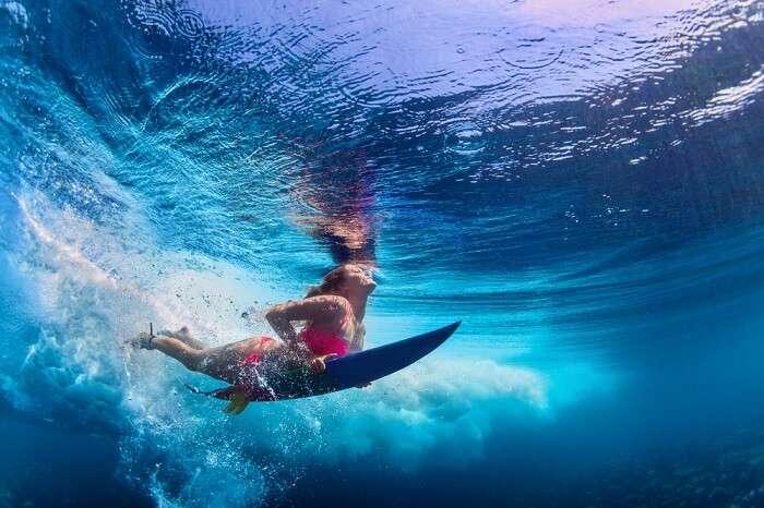 go snorkeling in berawa beach