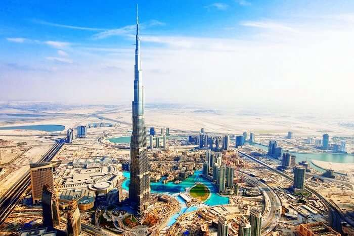 climb burj khalifa for awesome views