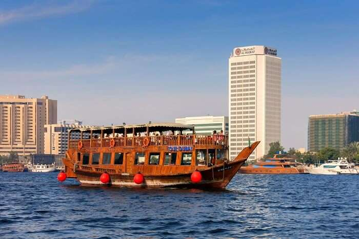 sail the dubai creek on a dhow cruise