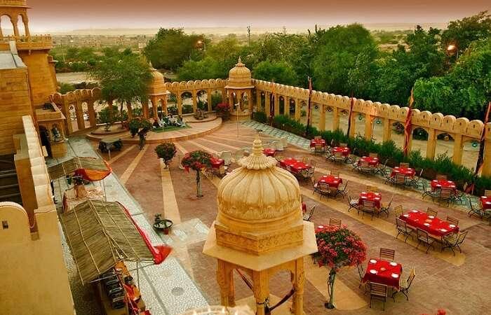 fort rajwada hotel in jaisalmer