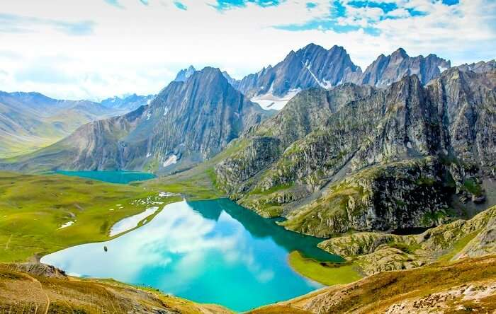 gadsar lake in kashmir