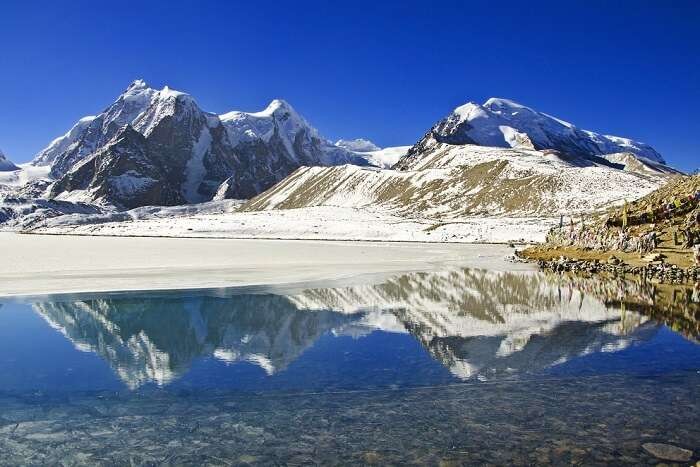 visit the gorgeous gurudongmar lake