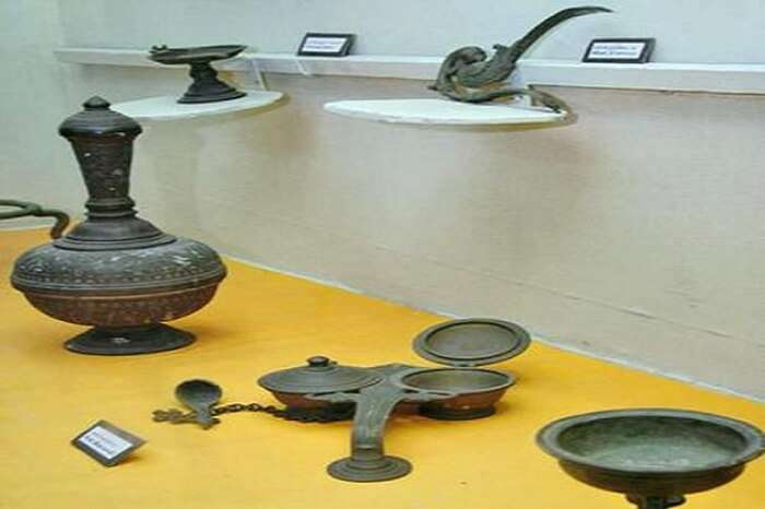 Some of the ancient artefacts available on display at Ancient Industrial Artifacts Museum in Coimbatore