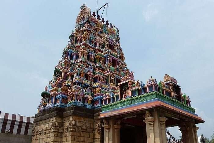 The grand Perur Patteshwarar Temple in Coimbatore