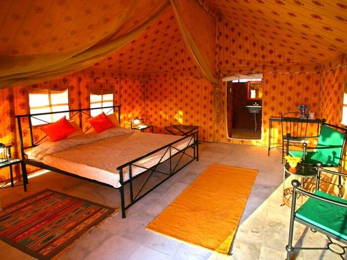 mirvana nature resort in jaisalmer