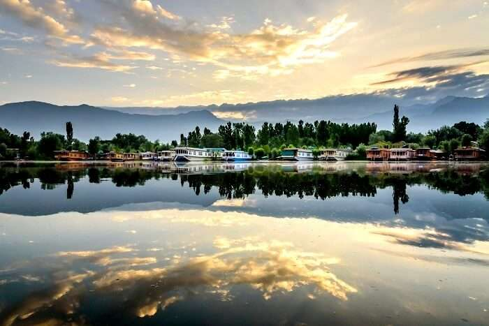 Nagin lake in kashmir