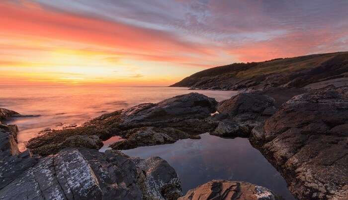 sunrise in Newfoundland