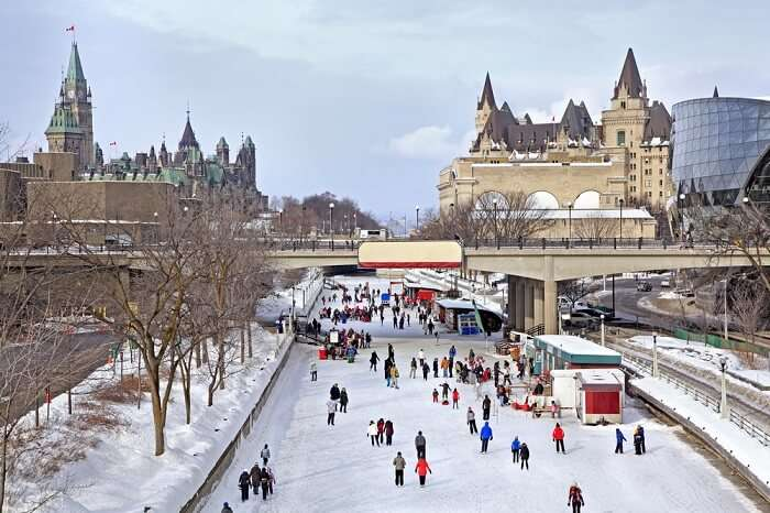 skating on rideau canal ottawa