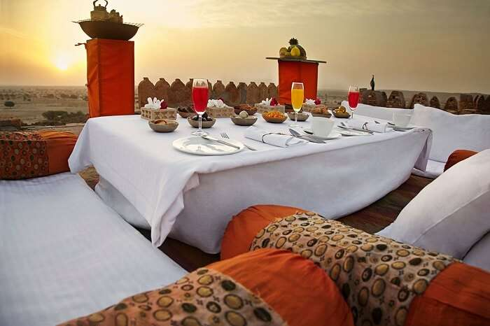 suiryagarh hotel in jaisalmer