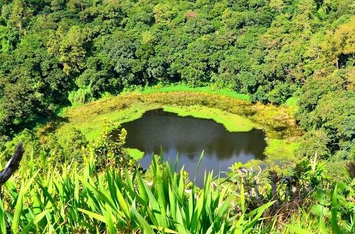 volcanic crater in mauritius