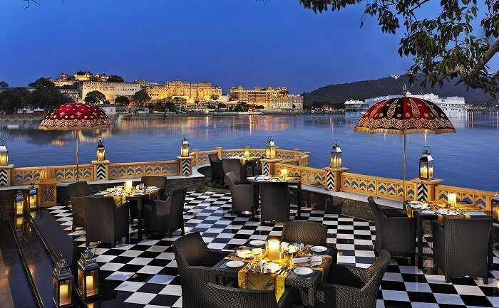 romantic restaurants Udaipur