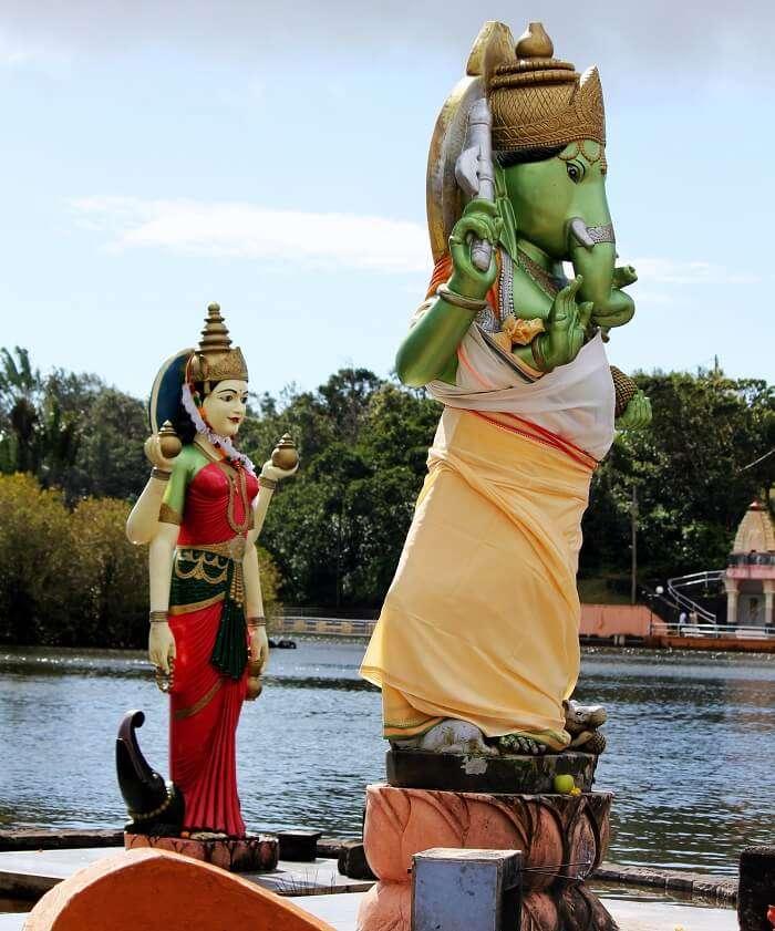 Hindu Gods Statues in Mauritius