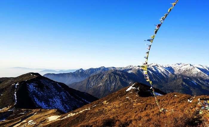 Views from Dzongri, Sikkim