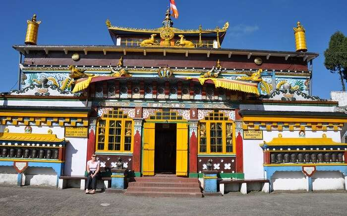A beautiful Tibetan temple