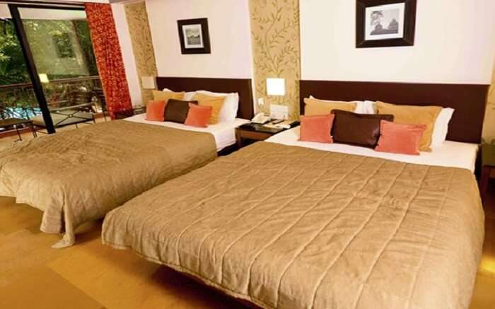 A room in Outpost Resort in Alibaug