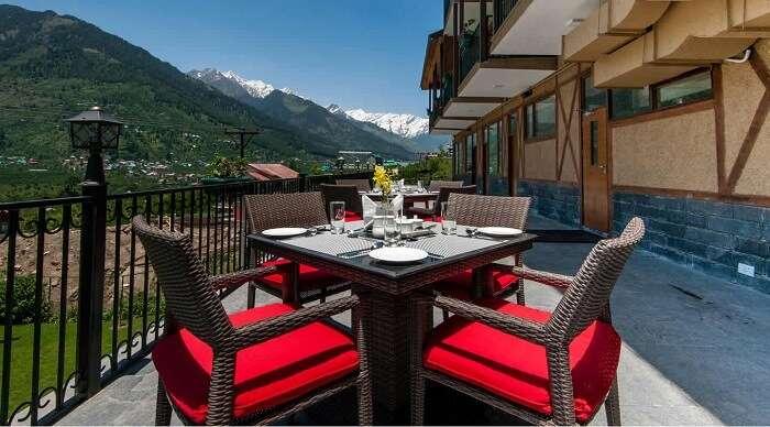 fine dining restaurants in manali