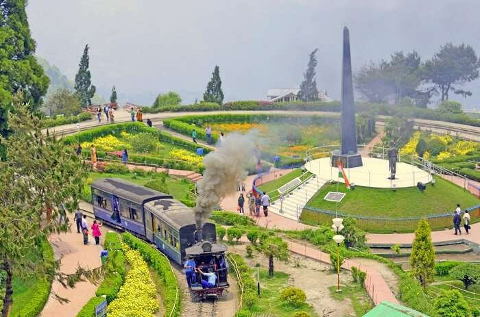 Batasia Loop & Ghoom station in Darjeeling