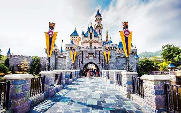 Disneyland in Hong Kong