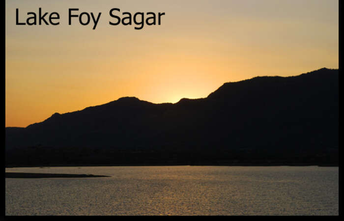 Foy Sagar Lake View
