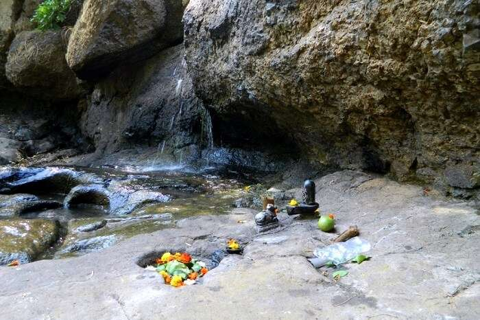 visit the pilgrimage site of Gupt Bhimashankar
