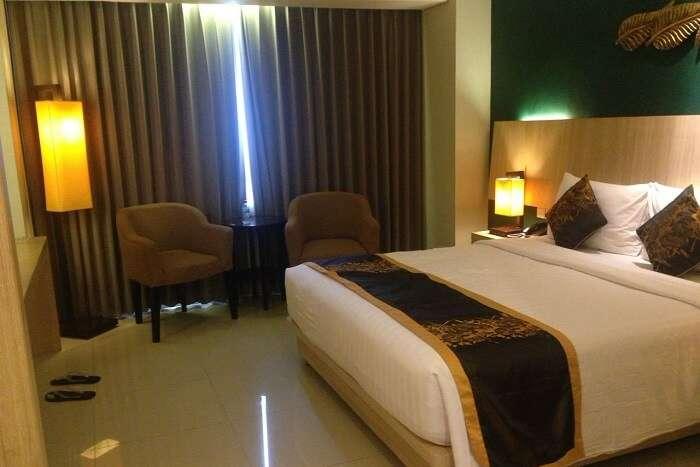 nirav room in bali hotel