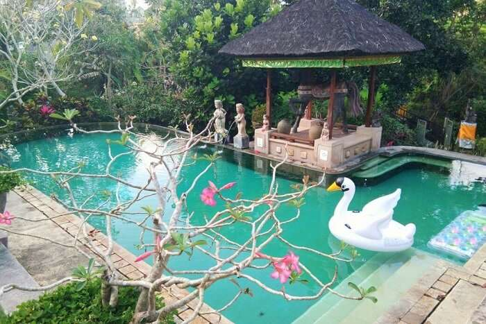 Alam Puri Art and Museum bali private pool