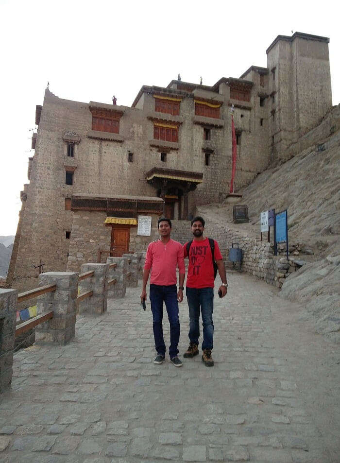 ninad near diskit monastery
