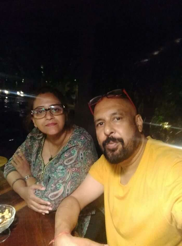 narayan and wife on nepal trip