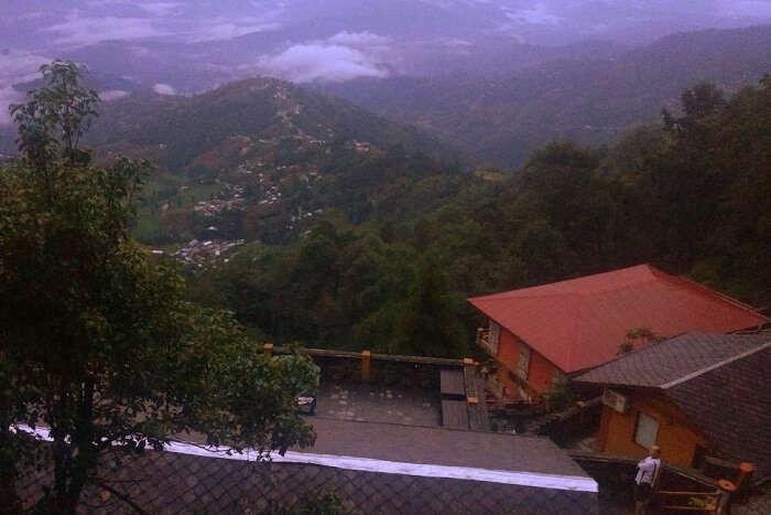 narayan staying at shangri la hotel in nepal