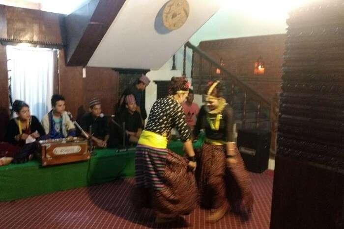 narayan at cultural performance in nepal