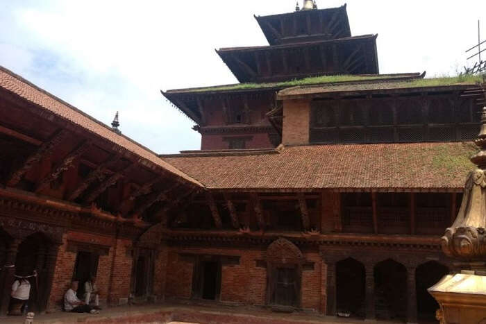 narayan visiting hindu temple in kathmandu on his romantic nepal trip