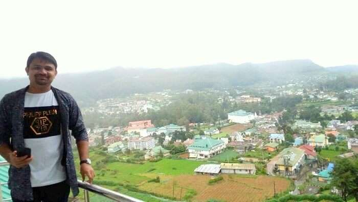 view from coco resort nuwara eliya