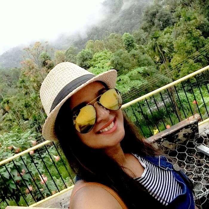 green landscape of Nuwara Eliya