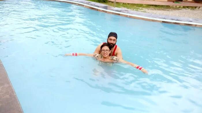 swimming pools in Jim Corbett